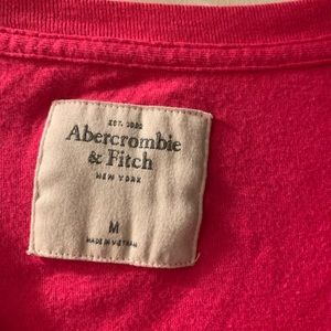 Abercrombie & Fitch Tops - Abercrombie and Fitch women's pink top sz Med